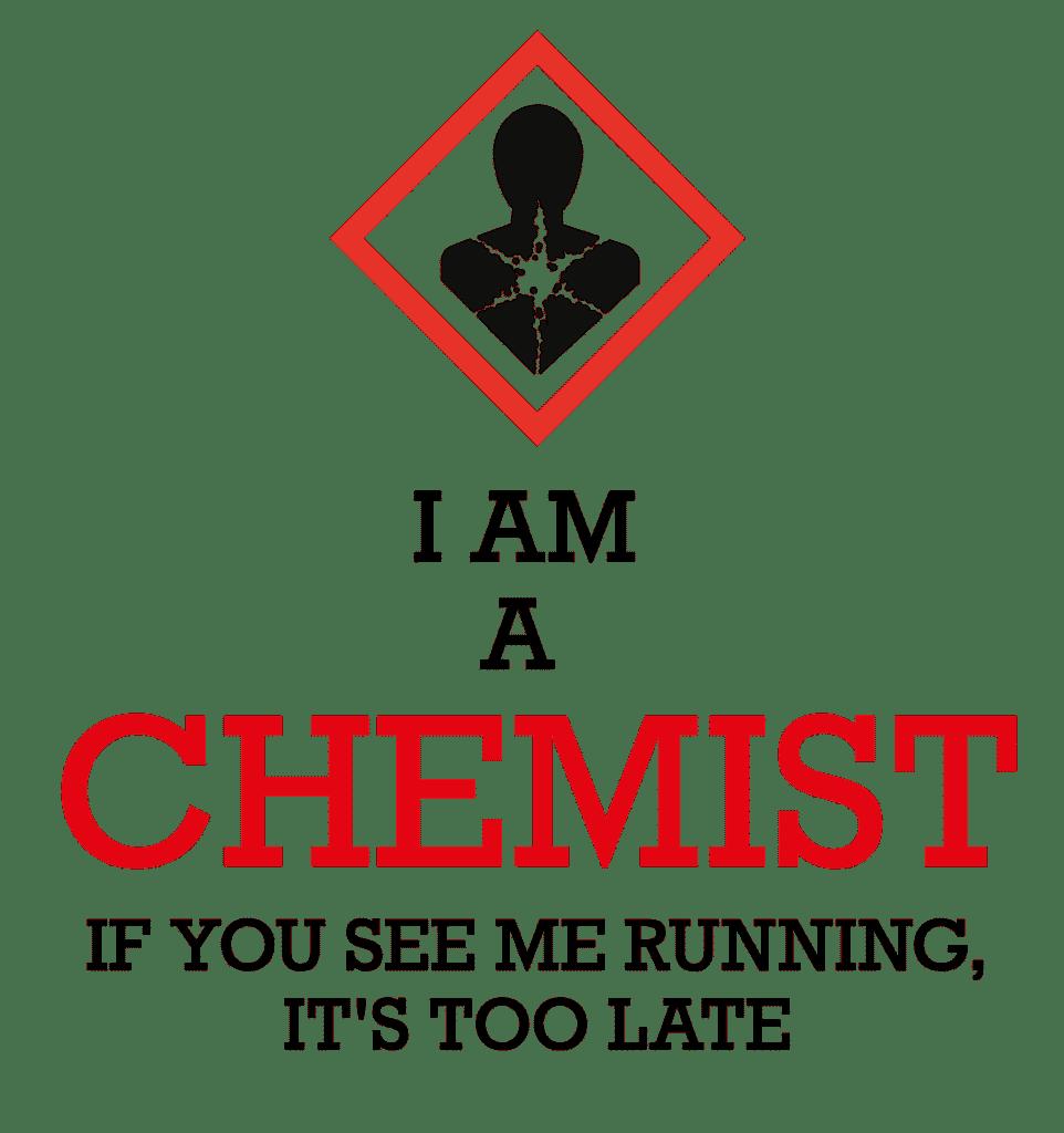 Chemist, t-shite design