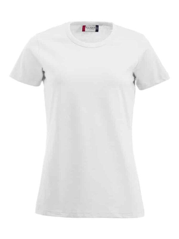 Ladies Fashion Tee hvid 3XL
