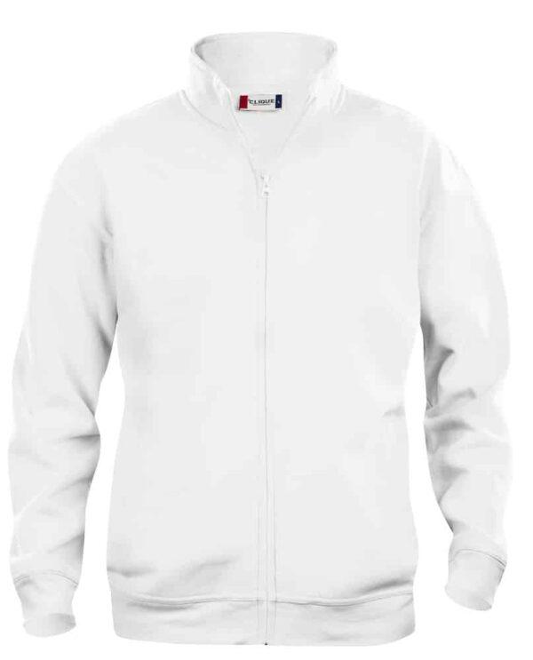 Clique Basic Cardigan herre Hvid 3XL