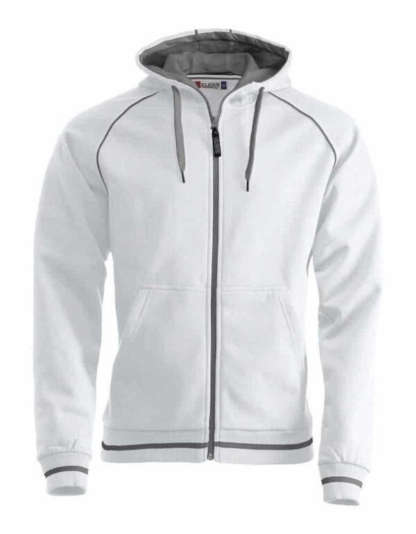 Gerry hood jakke hvid XXL