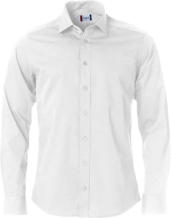 Clark Herreskjorte Hvid 3XL